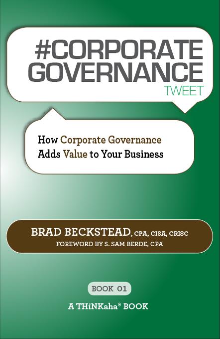 #CORPORATE GOVERNANCE tweet Book01