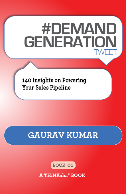 #DEMAND GENERATION tweet Book01