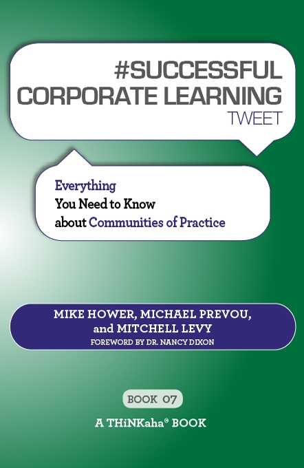#SUCCESSFUL CORPORATE LEARNING tweet Book07