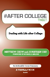 #AFTER COLLEGE tweet Book01