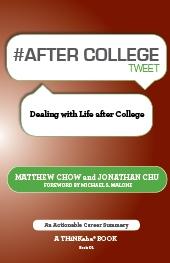 #AFTER COLLEGE tweet Book01