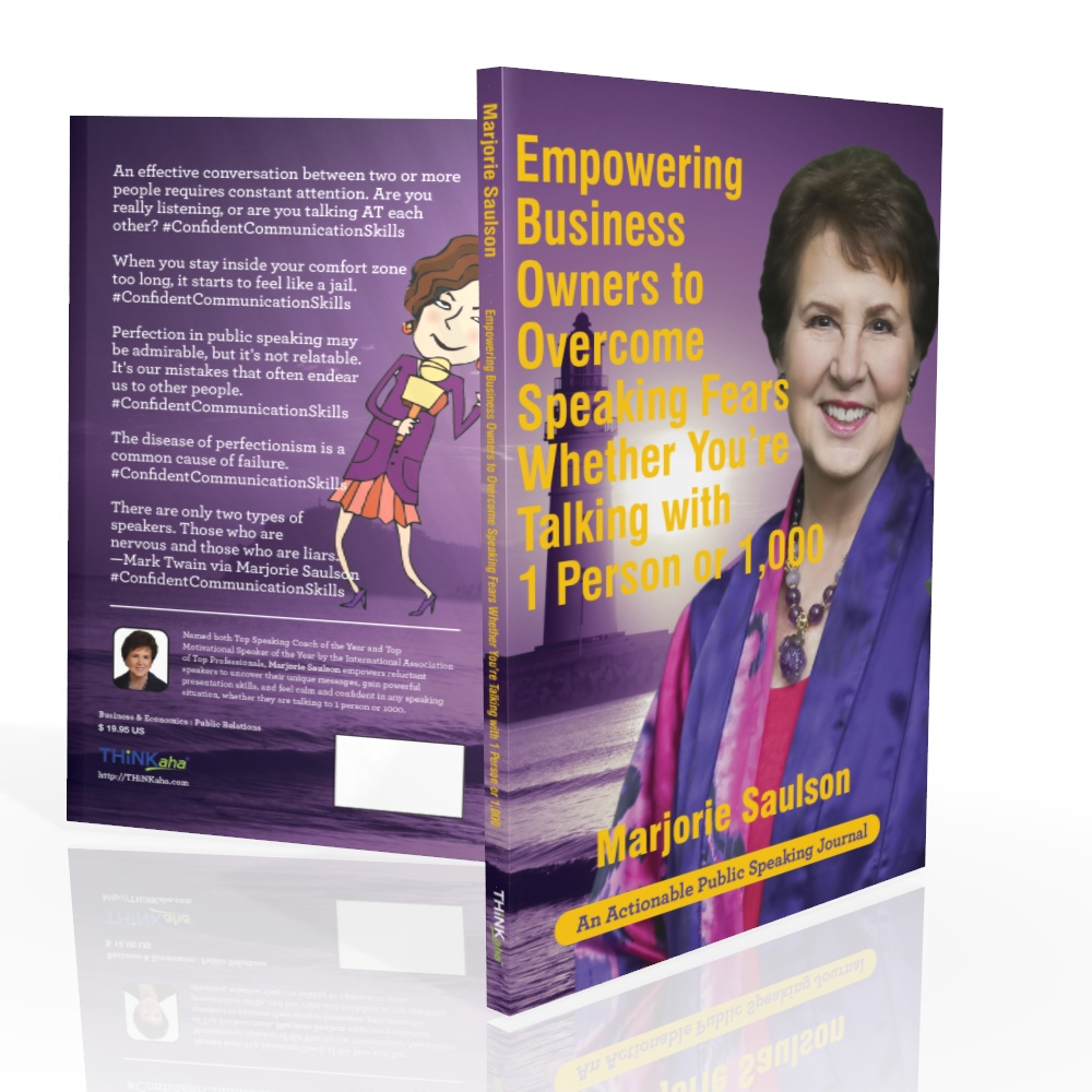 Empowering Business Owners to Overcome Speaking Fears Whether You're Talking with 1 Person or 1,000